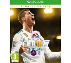 FIFA 18 For XBOX ONE Ronaldo Edition