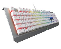 Razer BLACKWIDOW X CHROMA MERCURY Edition US  (White)