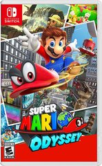 Game Title Super Mario Odyssey for Nintendo Switch