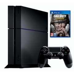 Sony Playstation 4 PS4 1TB with 1 Control + Call of Duty WWII