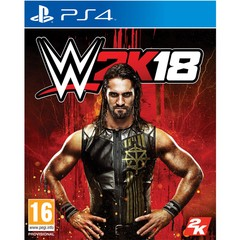 Game Title WWE 2K18 For PS4