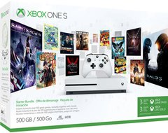 Xbox One S 500GB +3M Game pass + 3M Xbox live