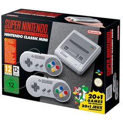 Nintendo SNES Mini Console With 2 Controllers