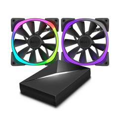 NZXT Aer RGB fans with HUE+ controller