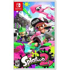 Game Title Splatoon 2 for Nintendo Switch