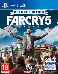 Far Cry 5 Deluxe Edition PS4