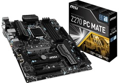 MSI Z270 PC MATE LGA1151 MOTHERBOARD