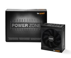 be quiet 750W Power Zone 80 Plus bronze Certified Modular High Performance Power Supply
