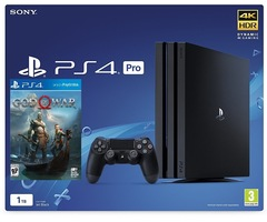 Sony Playstation 4 PS4 PRO 1TB Game God Of War