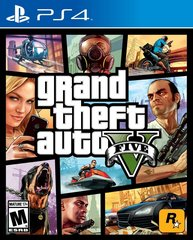GTA Grand Theft Auto 5 PS4