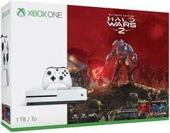 Game Console Xbox One S 1TB + Halo Wars 2