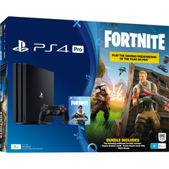 Sony Playstation 4 PS4 PRO 1TB with Game Fortnite