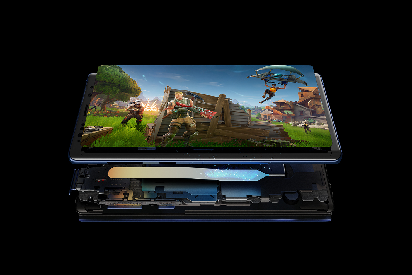 purchasers of the new samsung note 9 will get access to the new galaxy outfit - how to play fortnite on note 9