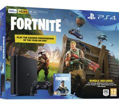 Sony Playstation 4 PS4 500GB With Game Fortnite