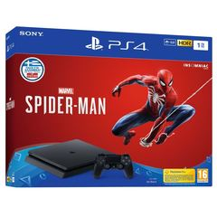 Sony Playstation 4 Slim PS4 1TB With Game Marvel's Spider-Man