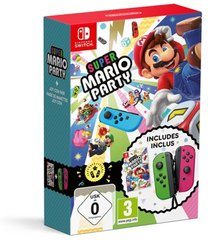 Super Mario Party Limited Edition Joy-Con in For Nintendo Switch