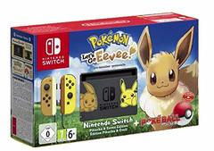 Nintendo Switch With Game Pokemon Let's Go Evee