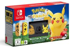 Nintendo Switch With Game Pokemon Let's Go Pikachu