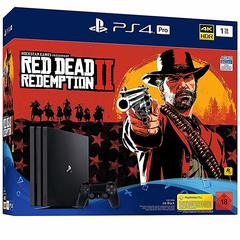 Sony Playstation 4 PS4 PRO 1TB With Game Red Dead Redemption 2