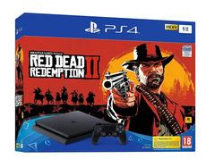 Sony Playstation 4 Slim PS4 1TB With Game Red Dead Redemption 2